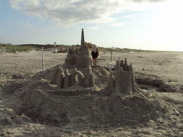 The Official Sandcastle of Sunset Beach 2011!