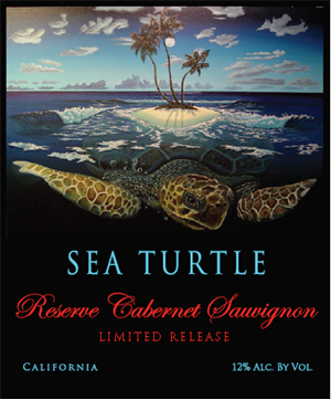 Sea Turtle Reserve Wines - Cabernet