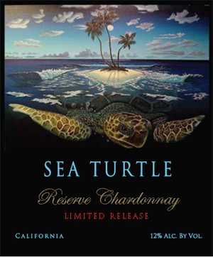 Sea Turtle Reserve Wines - Chardonnay